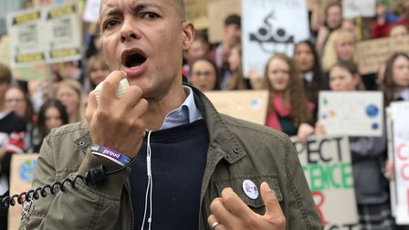 Clive Lewis, Norwich South MP, has pulled out of the Labour leadership race. Picture: Neil Didsbur