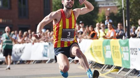 Nick Earl is ranked ninth in the UK marathon rankings. Picture: Archant