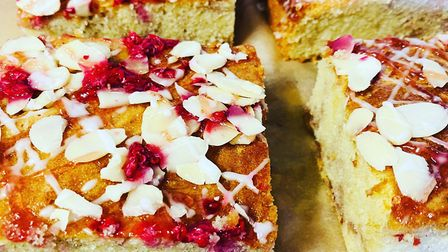 Bakewell slice at Bake Away in Norwich Credit: Bake Away