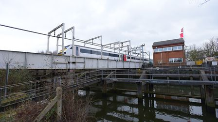 Trowse swing bridge needs replacing to run more frequent, faster trains. PHOTO BY SIMON FINLAY