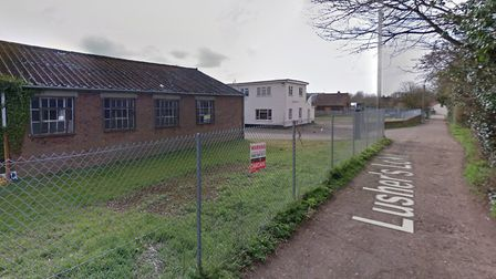 An application has been submitted to build on land off Lusher's Loke in Sprowston. Picture: Google M