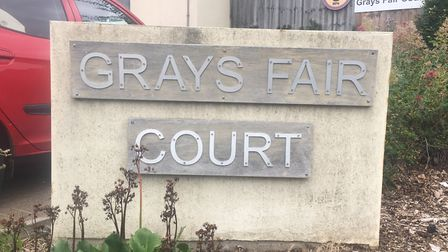 A murder investigation was launched after a woman in her 80s was found dead at Grays Fair Court care