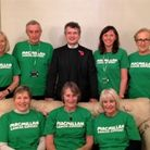 Macmillan fundraisers from Great Yarmouth and Gorleston with new Macmillan GP Dr Ian Hume Picture: T