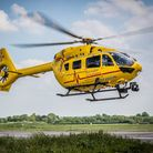 The East Anglian Air Ambulance was scrambled to assist paramedics in Beccles.
