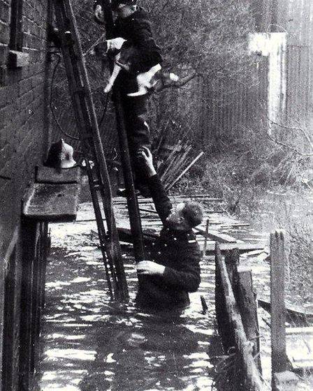 In 1953 high tides and storm force winds swept aside sea defences and drowned 100 people in one nigh