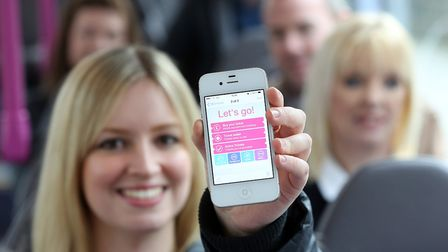 An mTicket used by bus passengers on First Eastern Counties Buses. Picture: Archant