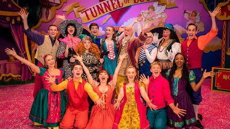 Cinderella, Norwich Theatre Royal pantomime 2019/20. Picture: Richard Jarmy Photography