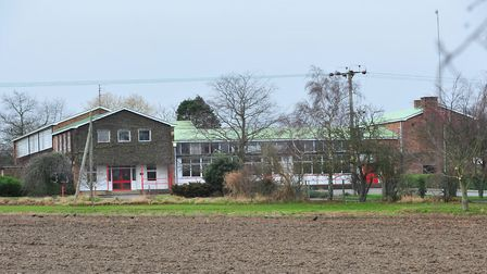 BACK THEN: The former Lothingland Middle School, Lound. Picture: NICK BUTCHER.