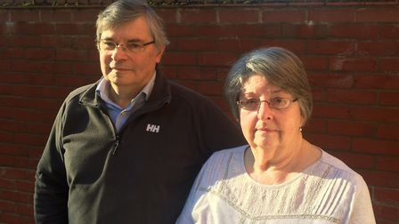 Roy Livermore and his sister Valerie Wheddon whose mum Doreen Livermore died six weeks after being p