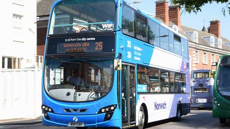 First could invest in more than 50 new buses if a multi-million pound bid for government cash succee