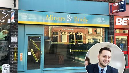 Estate agent Minors & Brady is set to open its latest branch on Market Place in Dereham, replacing t