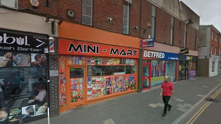 The Mini-Mart in Dereham, which relocated elsewhere in the town in August 2019. Picture: Google Stre