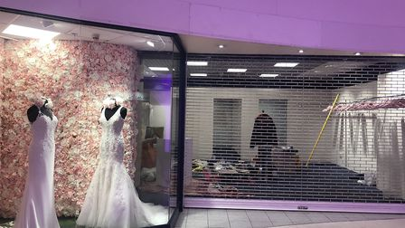 #SayYes will sell discounted designer wedding dresses. Picture: Archant