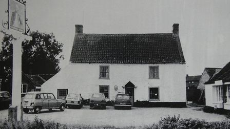 The Lord Nelson pub in Burnham Thorpe in the 1970s. Picture: Supplied by Holkham