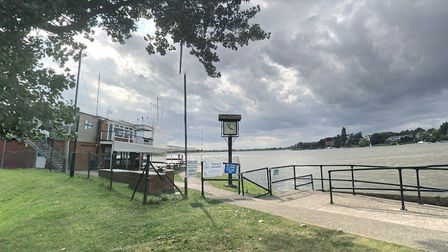 A storage yard at The Waveney and Oulton Broad Yacht Club in Nicholas Everitt Park was broken into w