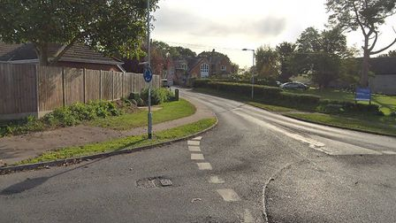 The junction of Sandy Lane and Taverham Road in Taverham. Picture: Google