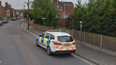 An elderly man suffered serious internal injuries after being hit by a car while crossing Grove Road