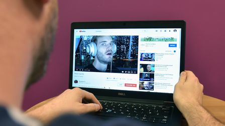 Swedish YouTuber, Felix Kjellberg, known online as PewDiePie. Picture: PA Archive/PA Images/Nick Ans