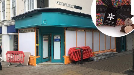 Chocolate retailer Montezuma (inset) will be opening in Norwich city centre. Pictures: Archant, Amaz