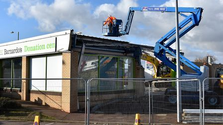 Demolition work started on the North Quay Retail Park in Lowestoft last November to create a new Bur