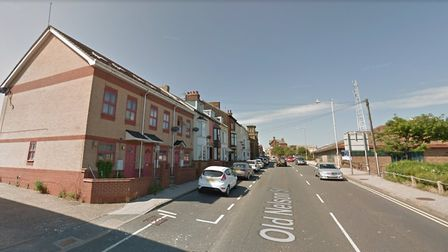 Old Nelson Street in Lowestoft. Neighbours say living next to Russell George made their lives a mise