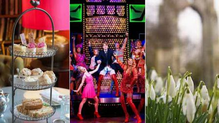 A Jane Austen-themed afternoon tea, cinema screening of Kinky Boots and a Snowdrop Photography Walk
