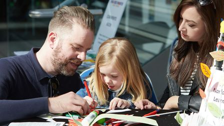 There will be plenty of free, family-friendly activities at the Norfolk Makers Festival from Februar