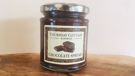 Thursday Cottage Chocolate Spread Picture: Charlotte Smith-Jarvis