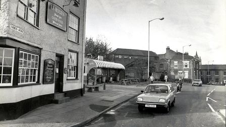 Zaks burger van at farmers Avenue in 1982. Pic: Archant library