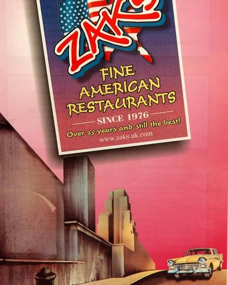 When Zaks launched its new healthy menu in 2005. Pic: Archant library