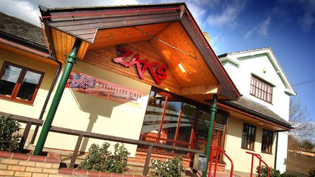 Zaks Diner Poringland after a £50,000 refurbishment. Pic: Archant library