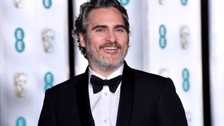 Joaquin Phoenix attending the after show party for the 73rd British Academy Film Awards after winnin