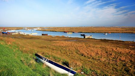 Stiffkey is famous for its marshes, and its difficult to pronouce name. Picture: David Thacker