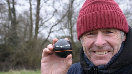 Mr Crabtree would hardly approve of the Deeper pro..but it worked for us Picture: John Bailey