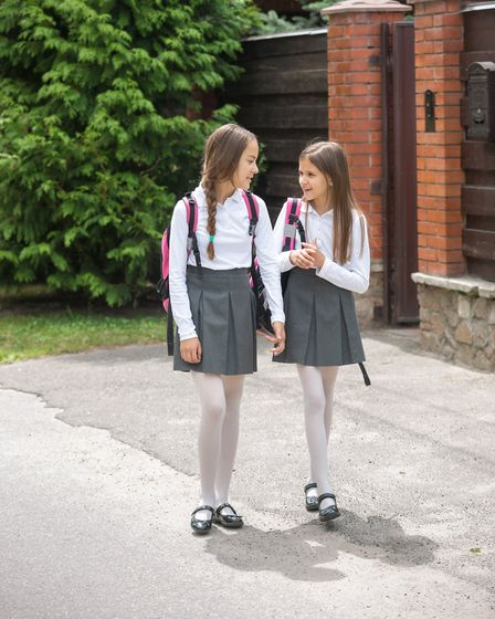 A new law could stop schools from insisting parents buy branded uniform if it is passed. Photo: Gett