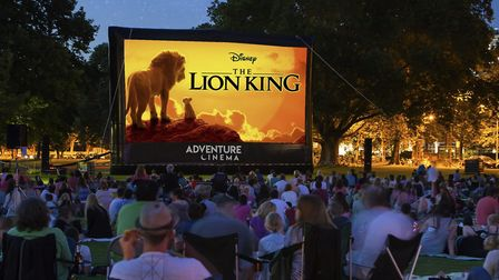 The 2019 remake of The Lion King will be shown at an outdoor cinema event in Sprowston Manor Credit: