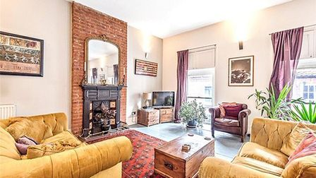The property for sale in the High Street, Little Walsingham. Pic: Jackson-Stops.