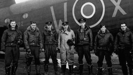 The ill-fated crew of BK716, who took off from Downham Market and never returned Picture: Supplied