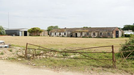 Part of the former base at Bexwell, near Downham Market Picture: Ian Burt