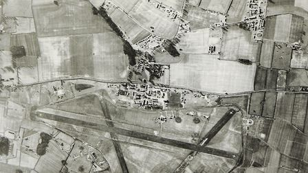 An aerial view of RAF Downham Market Picture: Archant archive