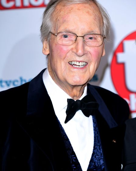 Just a Minute host Nicholas Parsons has died aged 96 after a short illness, his agent said. Photo: I