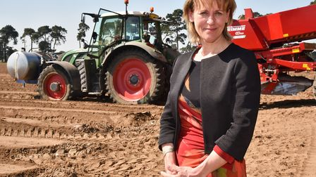 """National Farmers' Union president Minette Batters says the government """"must not sacrifice British fa"""