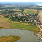 The Aldeburgh coastline, which will be part of the route. Photot: Mike Page