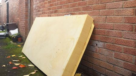 Norwich City Council leaders say it is hard to track down who has dumped mattresses. Picture: Ian B