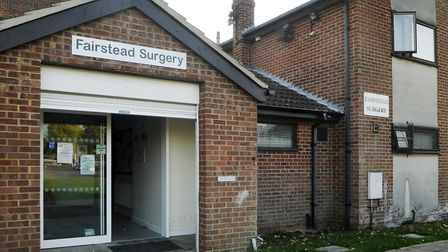 Fairstead Surgery, which has been saved Picture: Ian Burt