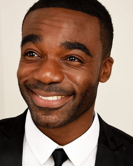 Ore Oduba stars in Curtains the Musical Credit: Supplied by Norwich Theatre Royal
