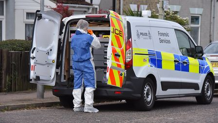 A forensics officer is one of the highest paying jobs in Norfolk right now. Picture: Jamie Honeywood