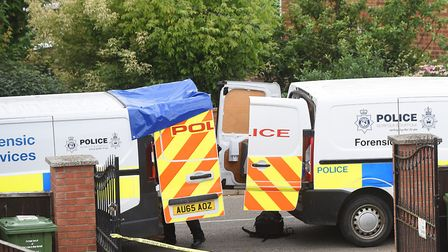 A forensics officer is one of the highest paying jobs in Norfolk. Picture: Ian Burt