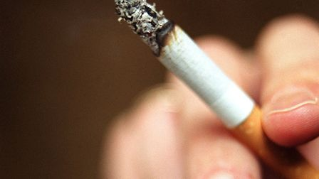 Two men have been fined more than £600 after being found guilty of throwing cigarette butts from the