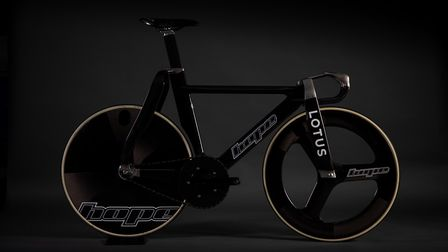 The new Olympic track bike has been meticulously designed in collaboration between Lotus and Hope Te